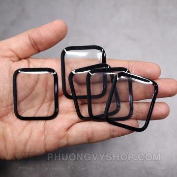 Dán dẻo viền đen Apple Watch (dẻo dày 6H)